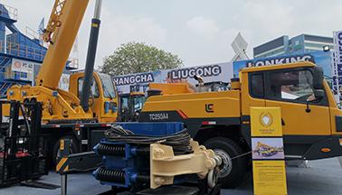 yabo24机械在印尼国际工程机械展会上收获颇丰