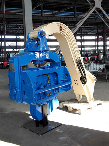 YZM75挖机yabo124锤