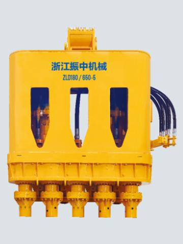 ZLD180(650-5)多轴式连续墙钻机