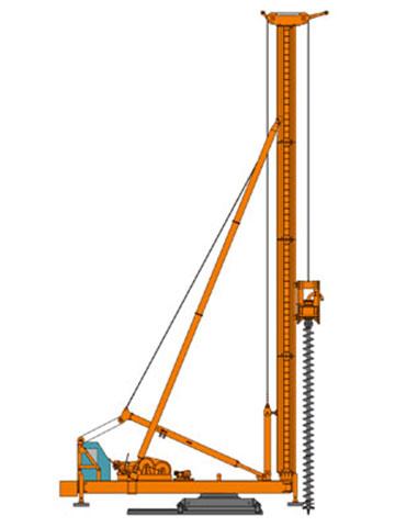 CFG25长螺旋钻机
