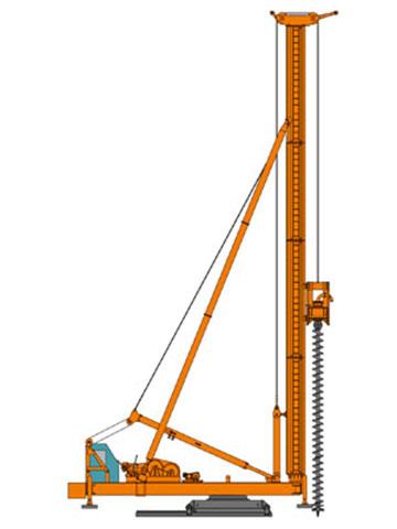 CFG35长螺旋钻机